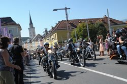 Harley-Parade - European Bike Week / Faaker See - Villach